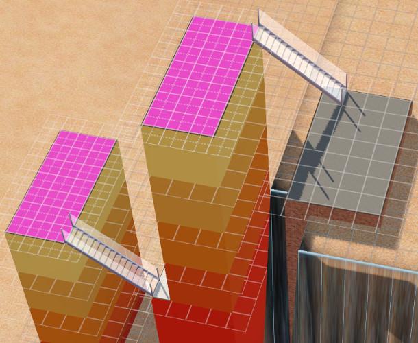 [Apprenti]Construire un bâtiment original de 14 étages sans code de triche 2614