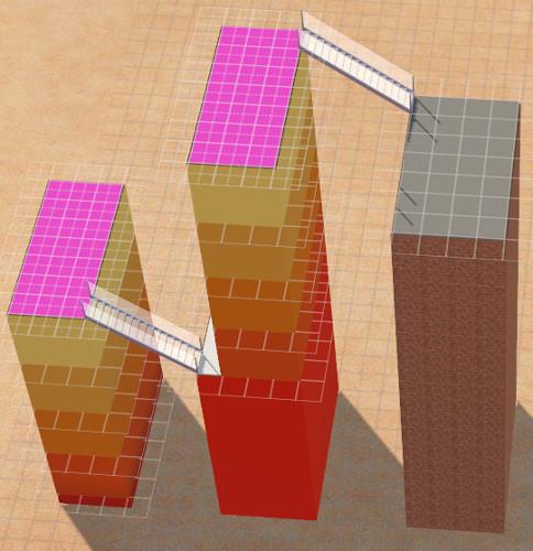 [Apprenti]Construire un bâtiment original de 14 étages sans code de triche 2814
