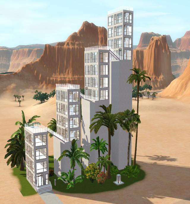 [Apprenti]Construire un bâtiment original de 14 étages sans code de triche 3015