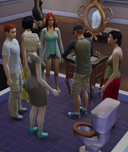 [Sims 4] Un souvenir de vos premiers instants de jeu 439
