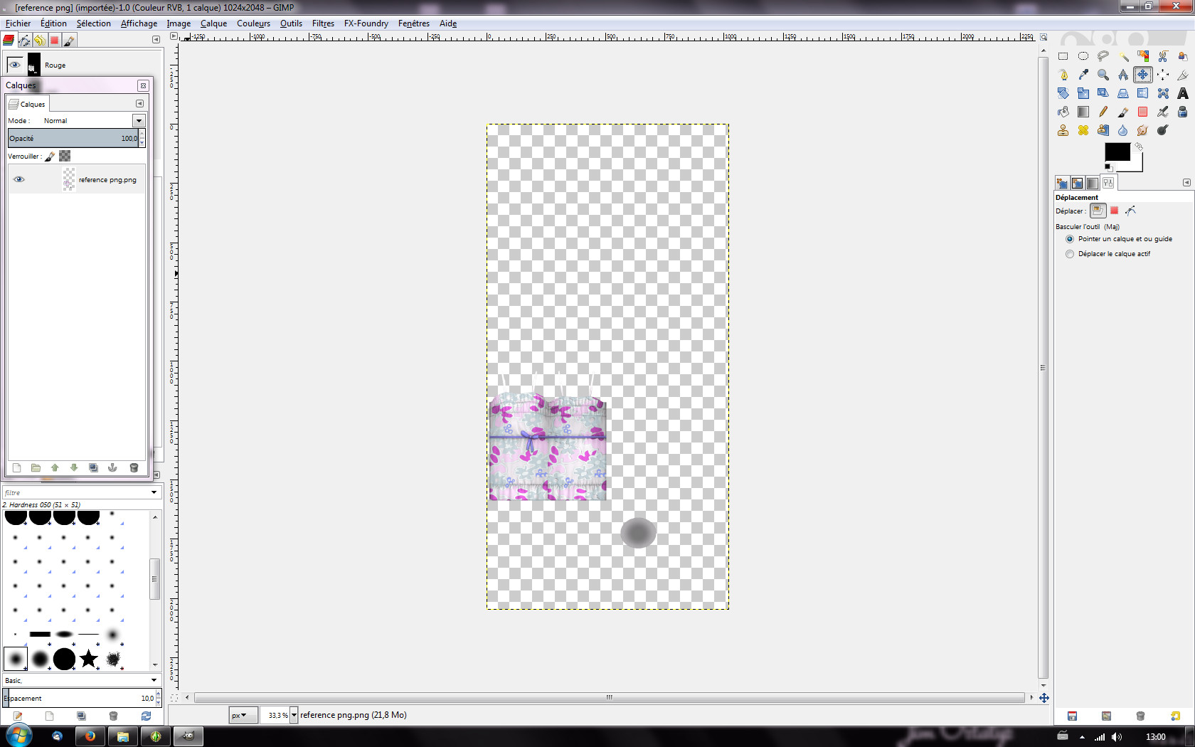 [Apprenti] Recolorer un vêtement du jeu les Sims 4 avec une texture 542