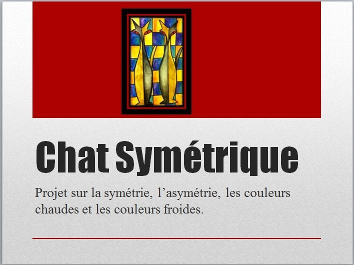 CHAT SYMÉTRIQUE (AQUARELLE)  Chat_110
