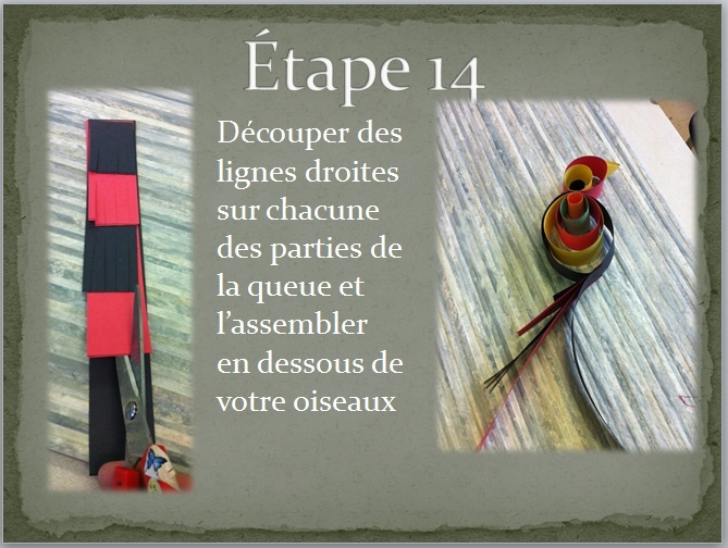 OISEAUX EN PAPIER (DÉCOUPAGE COLLAGE) Oiseau27