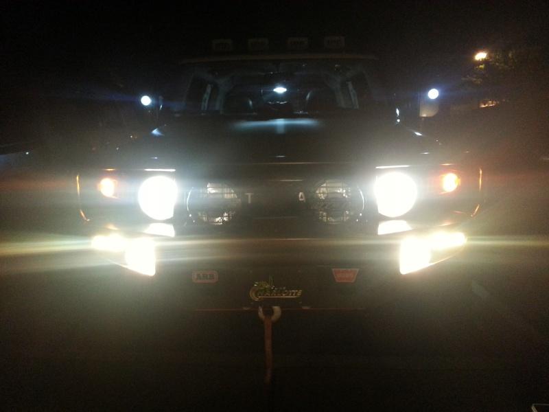 Glasgow's Rig V2.0 - BLACK BETTY Lights12