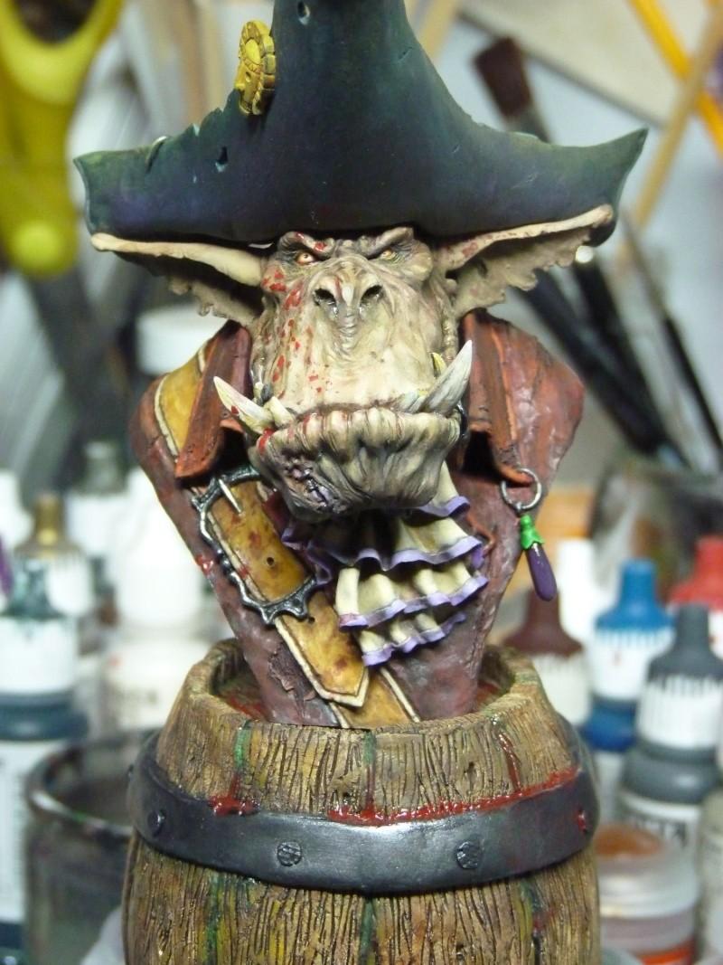 Buste Orks Pirates LeBen Studio par pisco P1050910