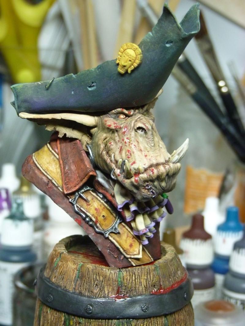 Buste Orks Pirates LeBen Studio par pisco P1050911