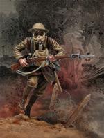 Reprise des hostilités à Thiepval 1916 ou l'histoire de Paf ! le tommy S3-f1310