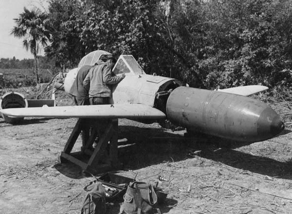 ZOOM SUR LE OHKA (avion suicide) Baka10