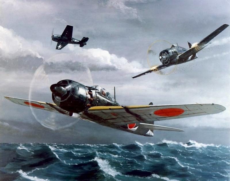 ZOOM SUR LE OHKA (avion suicide) Hellca10