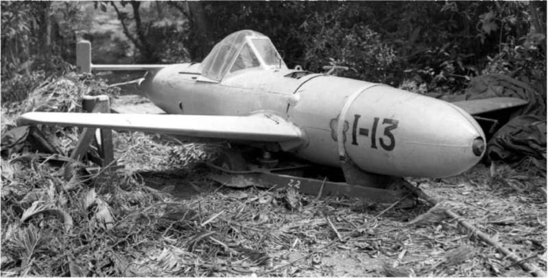ZOOM SUR LE OHKA (avion suicide) Kamika10