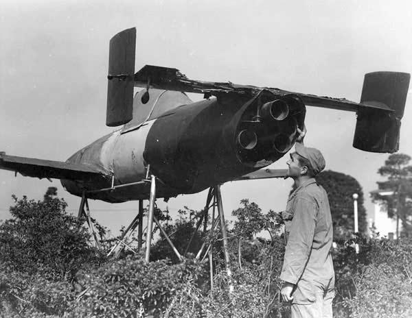 ZOOM SUR LE OHKA (avion suicide) Mayo-i10