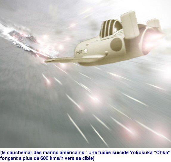 ZOOM SUR LE OHKA (avion suicide) Ohka_i10