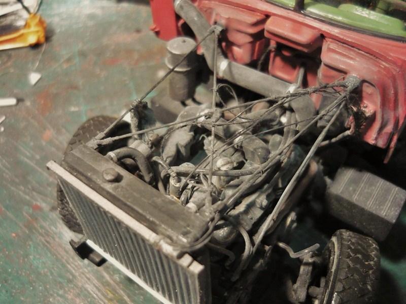 Mack R 700 1971 avec remorque bi train P1120323