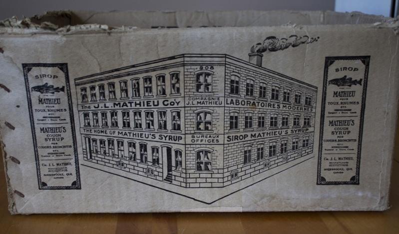 Boîte en carton sirop Mathieu Edific10