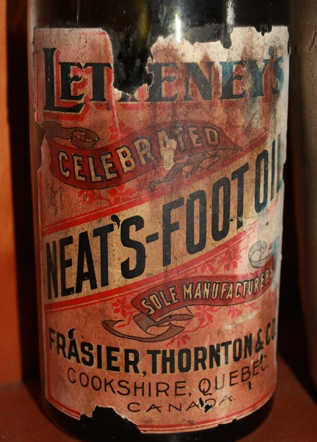 Neat's foot oil - Frasier Thornton Letten11