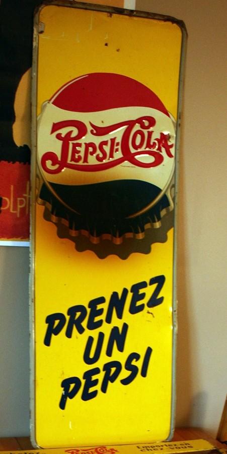 2 affiches pepsi Prenez11