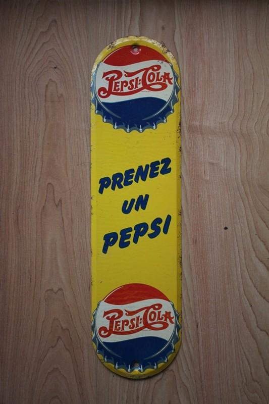 2 affiches pepsi Prenez12
