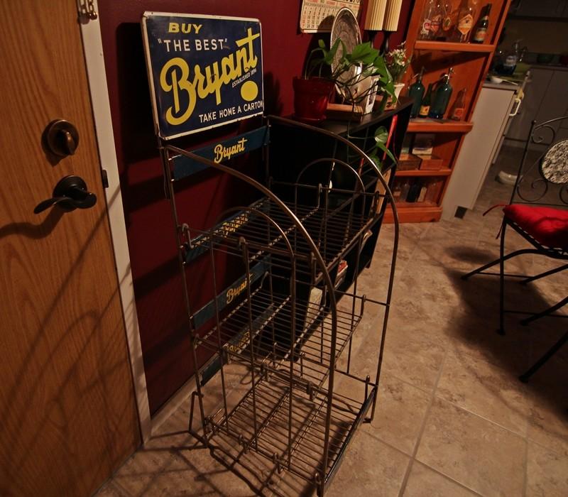 Présentoir d'épicerie Bryant Rack_b11
