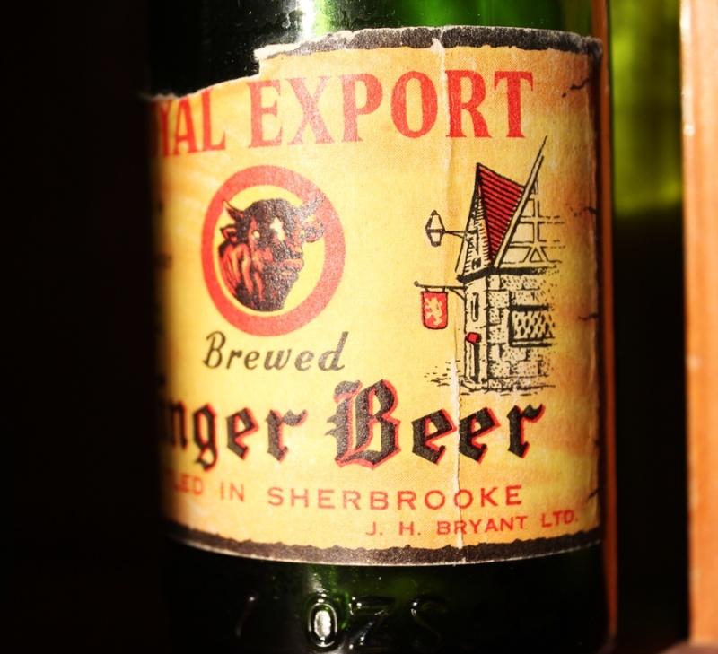 Royal export ginger beer - J.H. Bryant Sherbrooke Royal_11