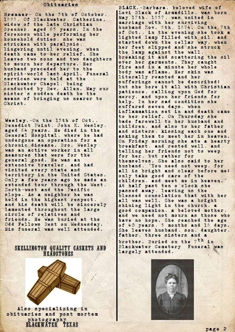 Newspaper/Diaries Zombie10
