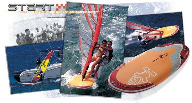 Kite avec planche de planche à voile / SUP Foil Start10