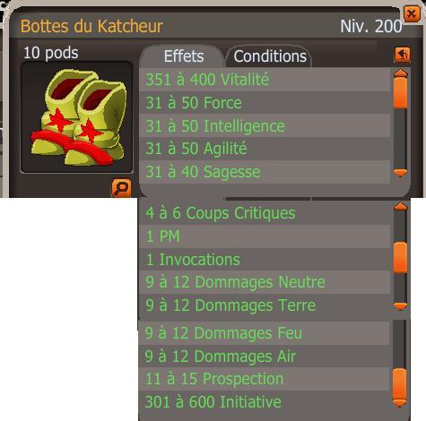 Les nouveaux stuffs 200 de la beta 2.21. Bottes10