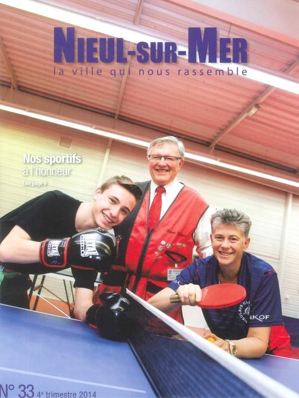 article de presse dans la revue de Nieul sur mer sur le titre de Karine DARDILLAC Karine11