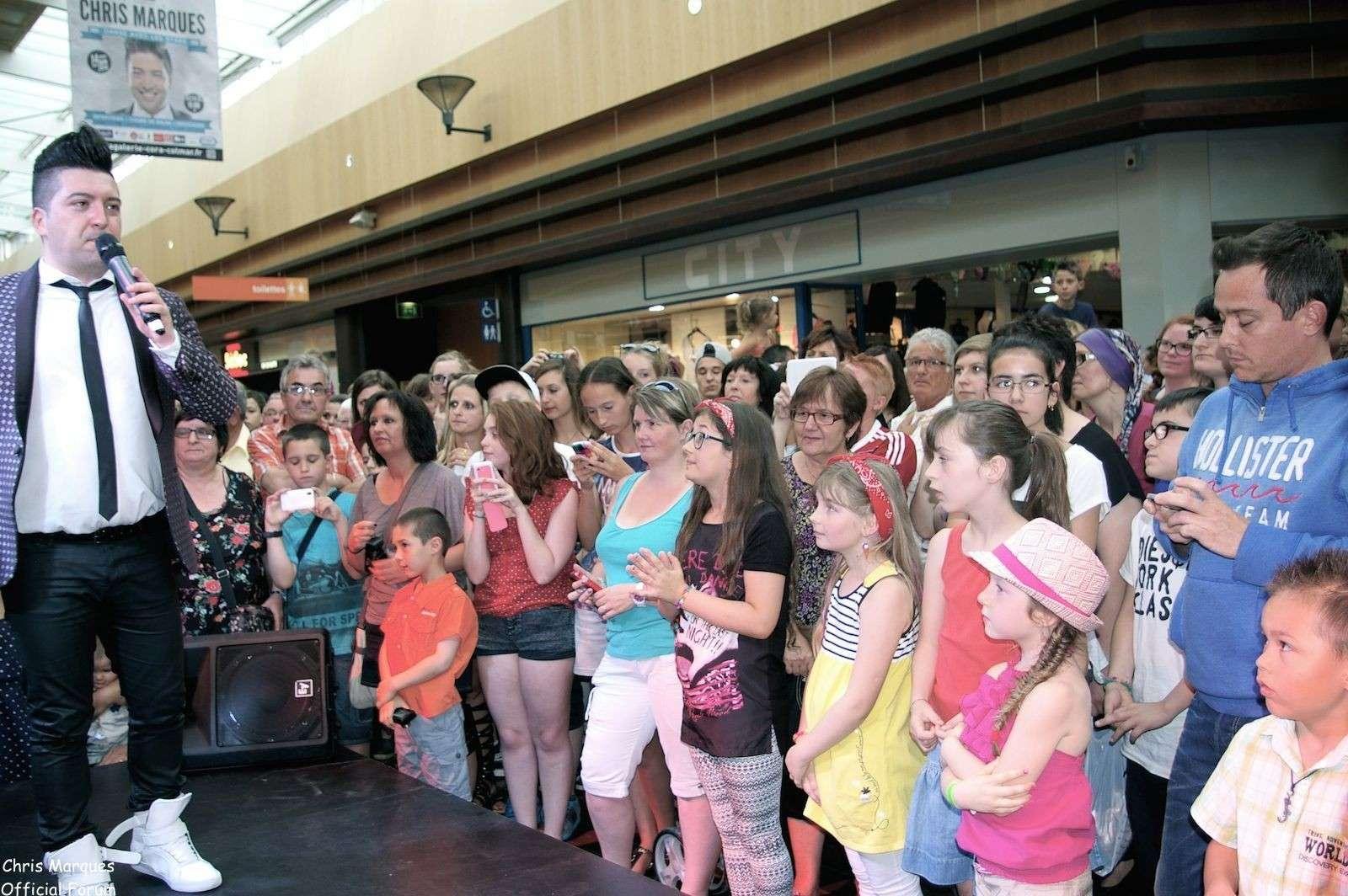 [14.06.2014] Evénement à #Colmar Chris Marques et Jaclyn Spencer pour un Flashmob/Cours de Danse/Dédicaces exceptionnels le tout organisé par la MJC de Colmar 10611
