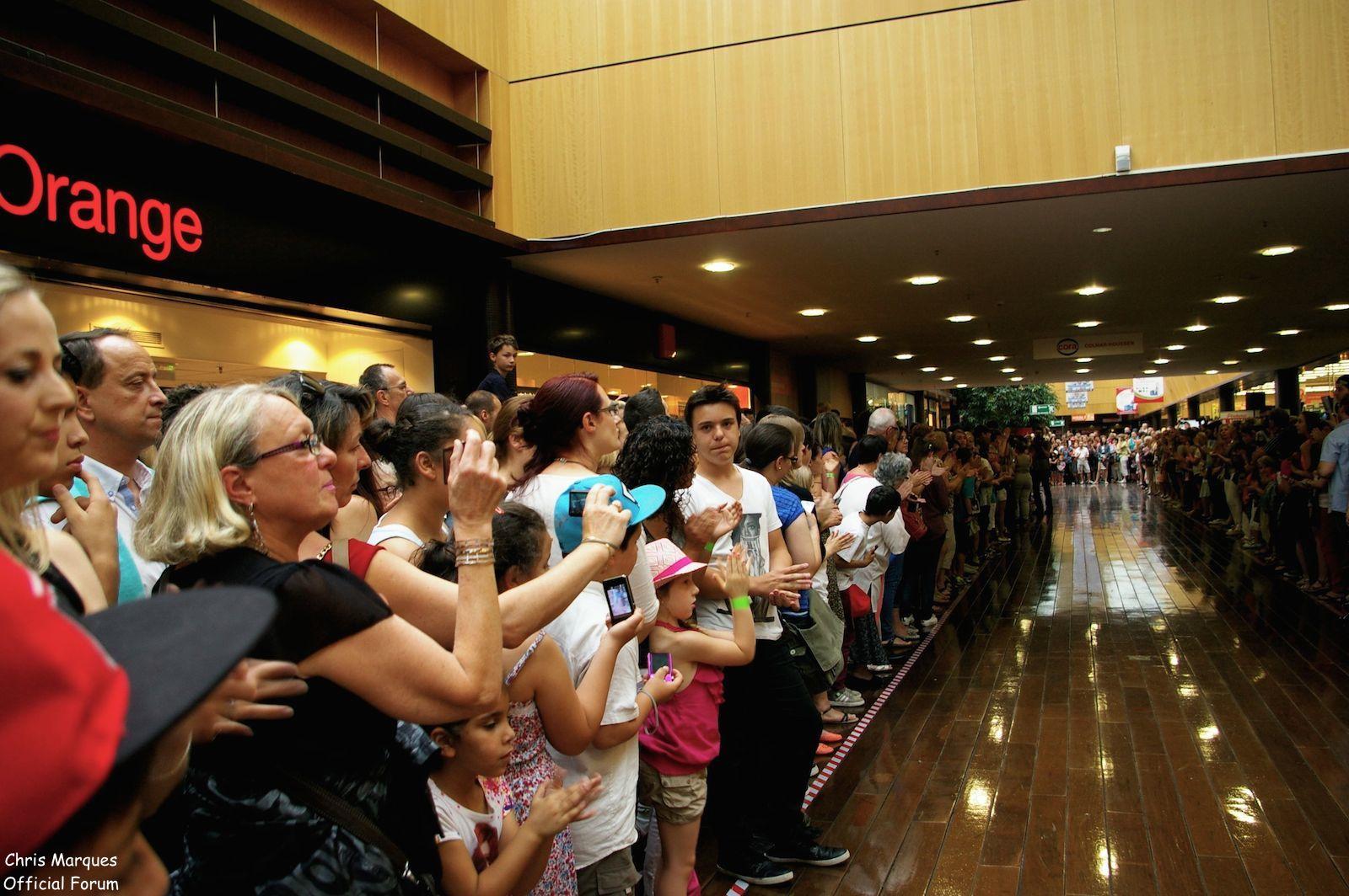 [14.06.2014] Evénement à #Colmar Chris Marques et Jaclyn Spencer pour un Flashmob/Cours de Danse/Dédicaces exceptionnels le tout organisé par la MJC de Colmar 112