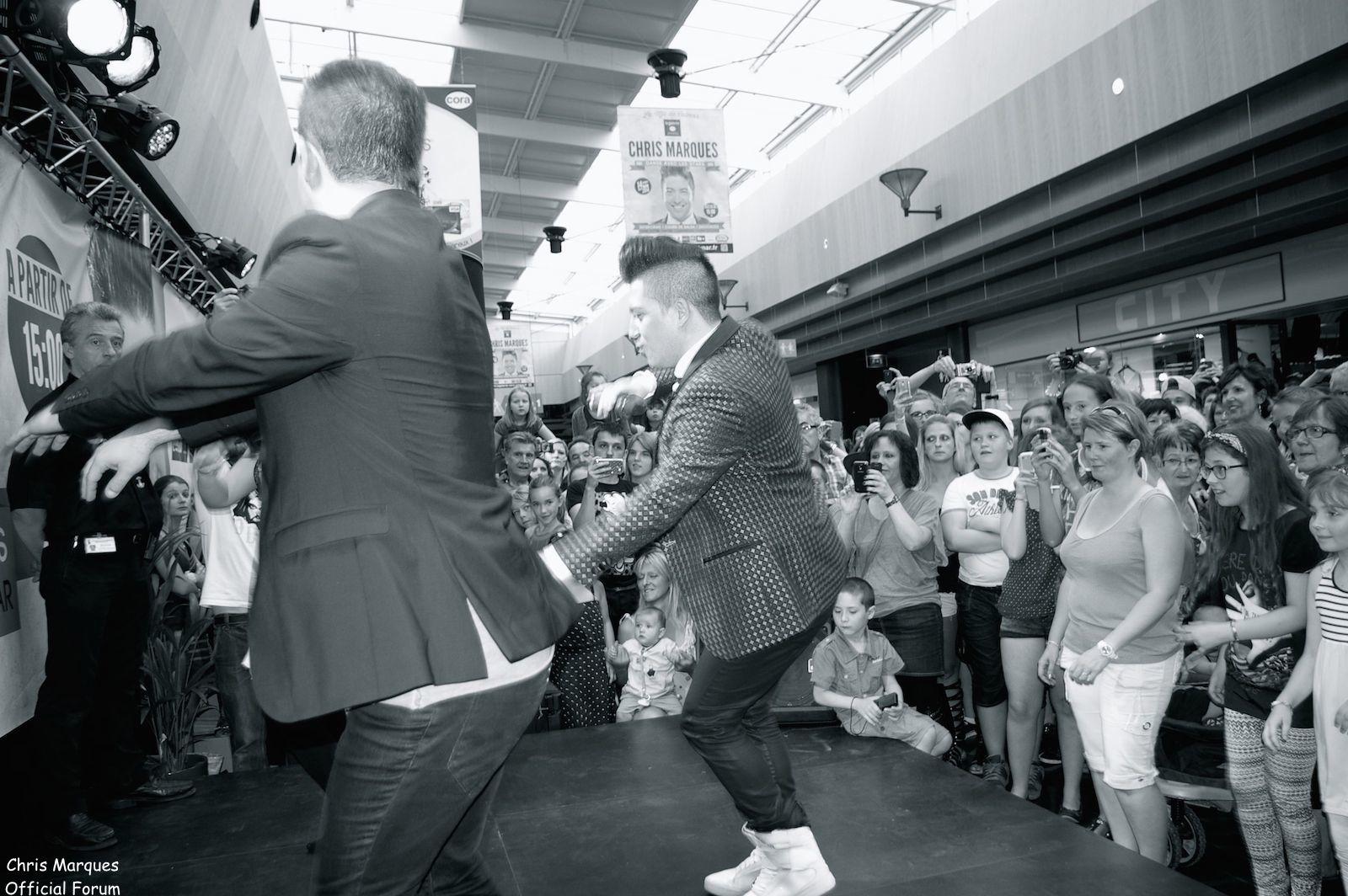[14.06.2014] Evénement à #Colmar Chris Marques et Jaclyn Spencer pour un Flashmob/Cours de Danse/Dédicaces exceptionnels le tout organisé par la MJC de Colmar 12111
