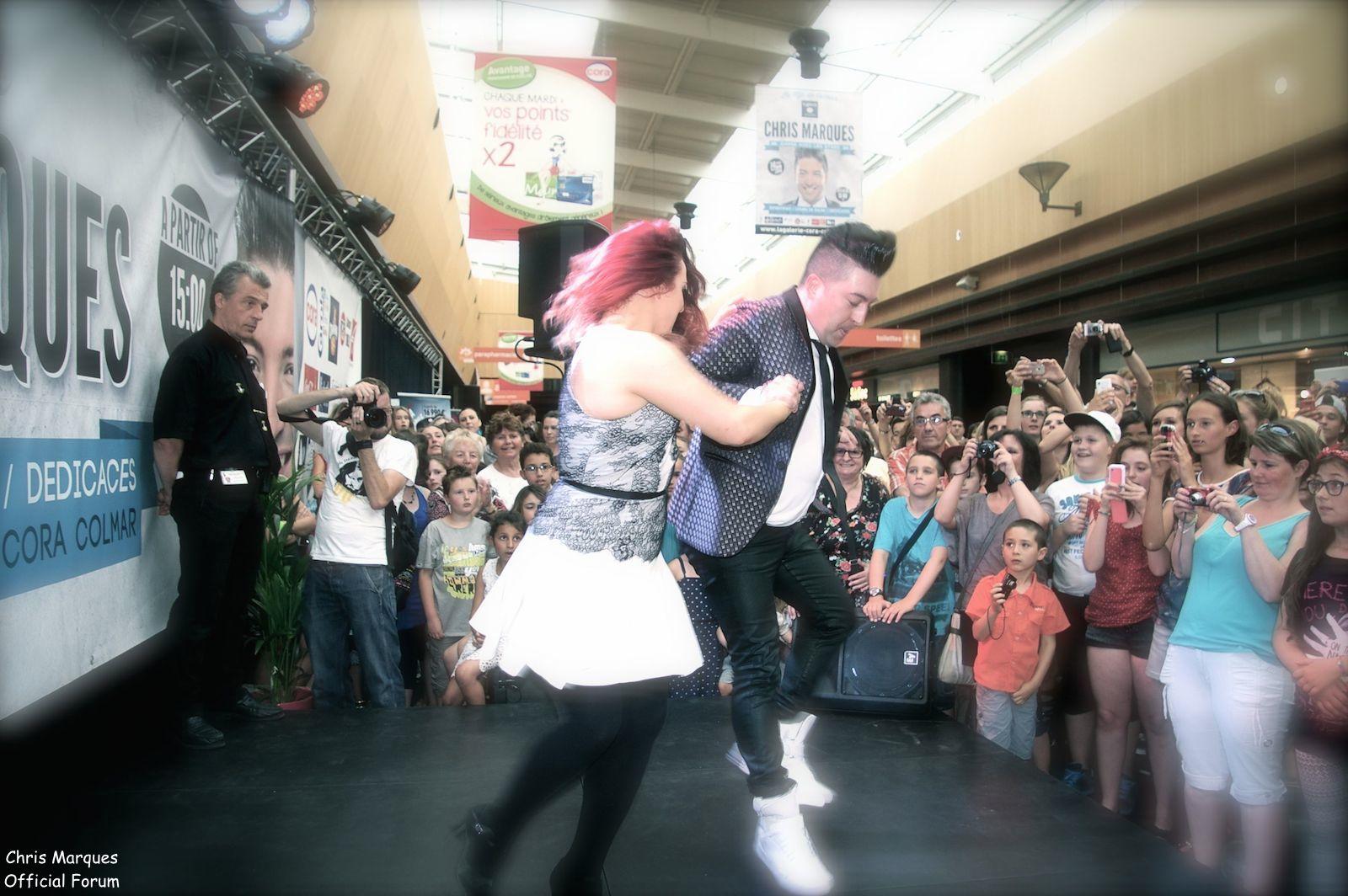 [14.06.2014] Evénement à #Colmar Chris Marques et Jaclyn Spencer pour un Flashmob/Cours de Danse/Dédicaces exceptionnels le tout organisé par la MJC de Colmar 12711