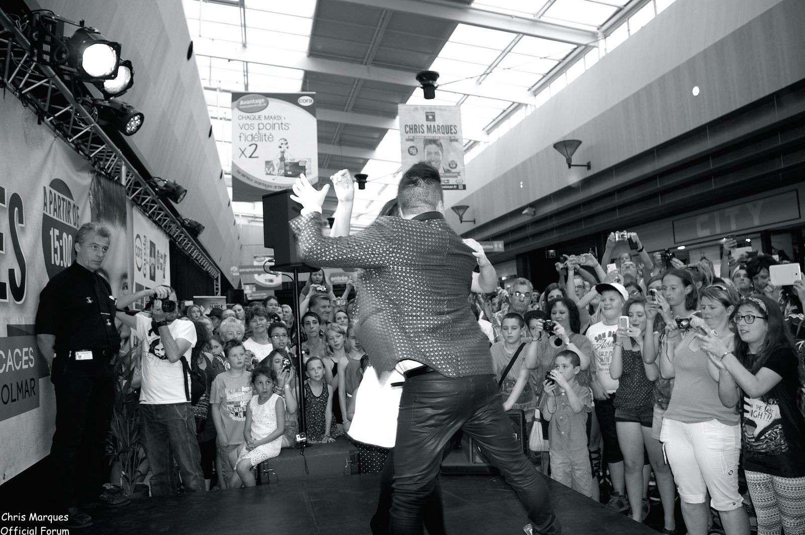 [14.06.2014] Evénement à #Colmar Chris Marques et Jaclyn Spencer pour un Flashmob/Cours de Danse/Dédicaces exceptionnels le tout organisé par la MJC de Colmar 12811
