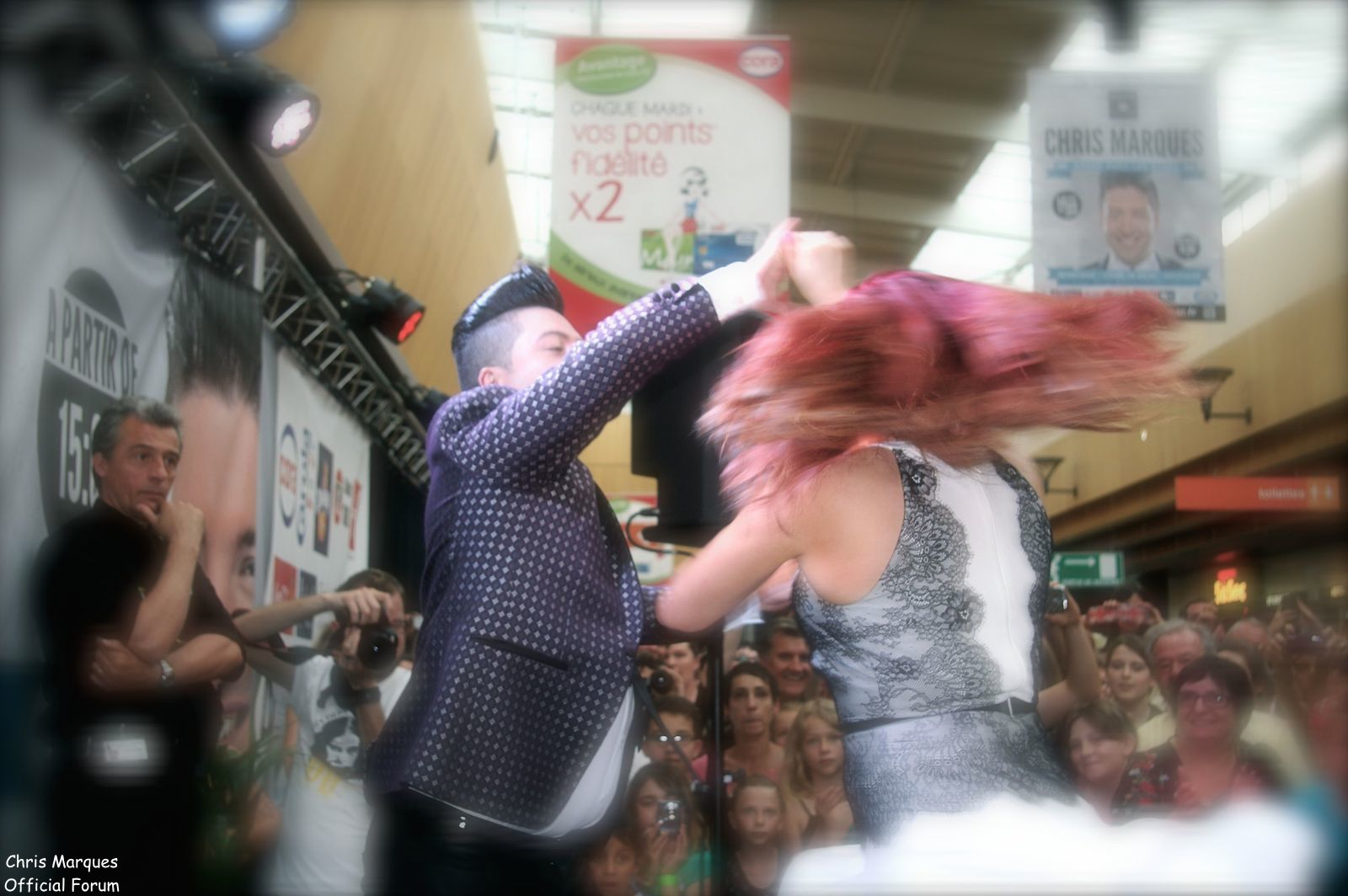 [14.06.2014] Evénement à #Colmar Chris Marques et Jaclyn Spencer pour un Flashmob/Cours de Danse/Dédicaces exceptionnels le tout organisé par la MJC de Colmar 13011