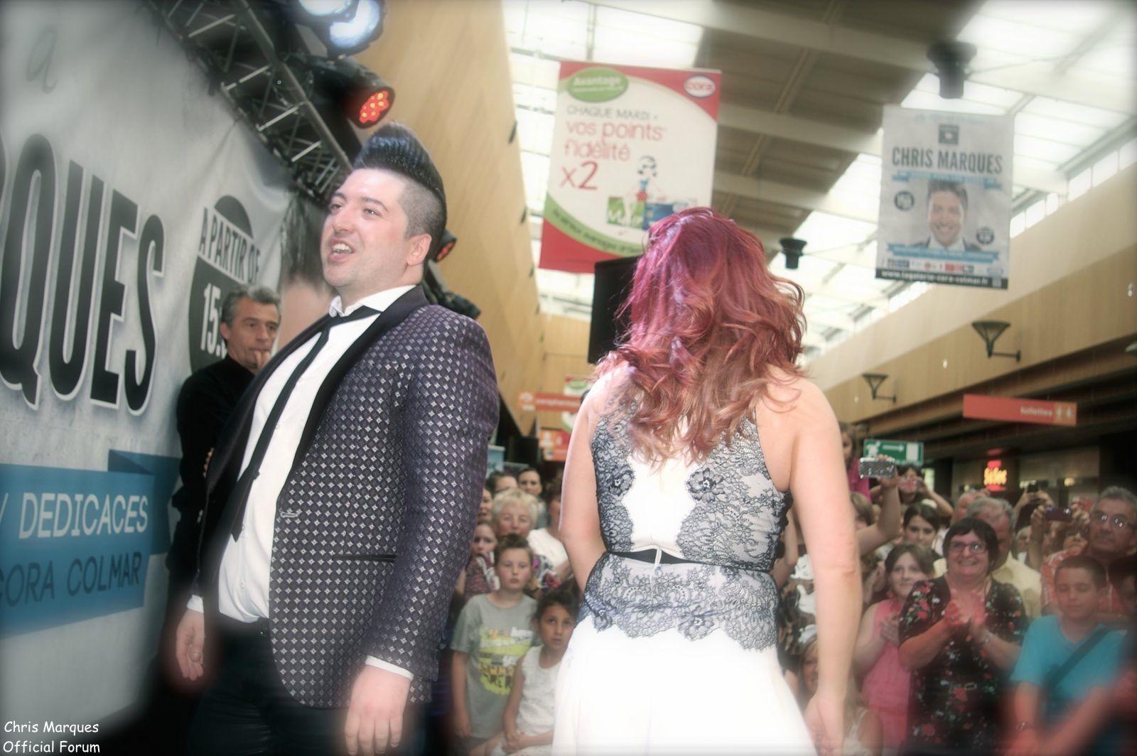 [14.06.2014] Evénement à #Colmar Chris Marques et Jaclyn Spencer pour un Flashmob/Cours de Danse/Dédicaces exceptionnels le tout organisé par la MJC de Colmar 13311