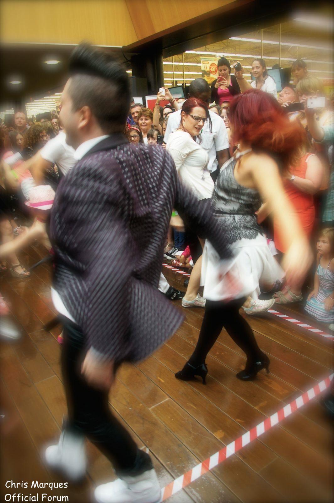 [14.06.2014] Evénement à #Colmar Chris Marques et Jaclyn Spencer pour un Flashmob/Cours de Danse/Dédicaces exceptionnels le tout organisé par la MJC de Colmar 1512