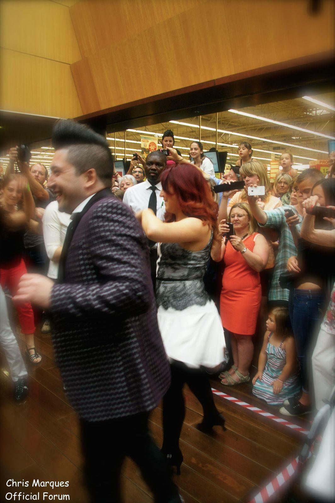 [14.06.2014] Evénement à #Colmar Chris Marques et Jaclyn Spencer pour un Flashmob/Cours de Danse/Dédicaces exceptionnels le tout organisé par la MJC de Colmar 1612