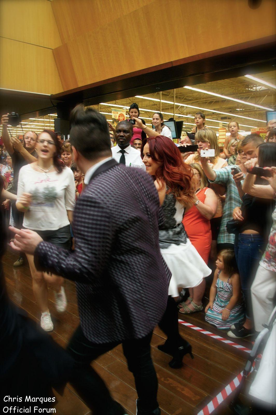 [14.06.2014] Evénement à #Colmar Chris Marques et Jaclyn Spencer pour un Flashmob/Cours de Danse/Dédicaces exceptionnels le tout organisé par la MJC de Colmar 1712