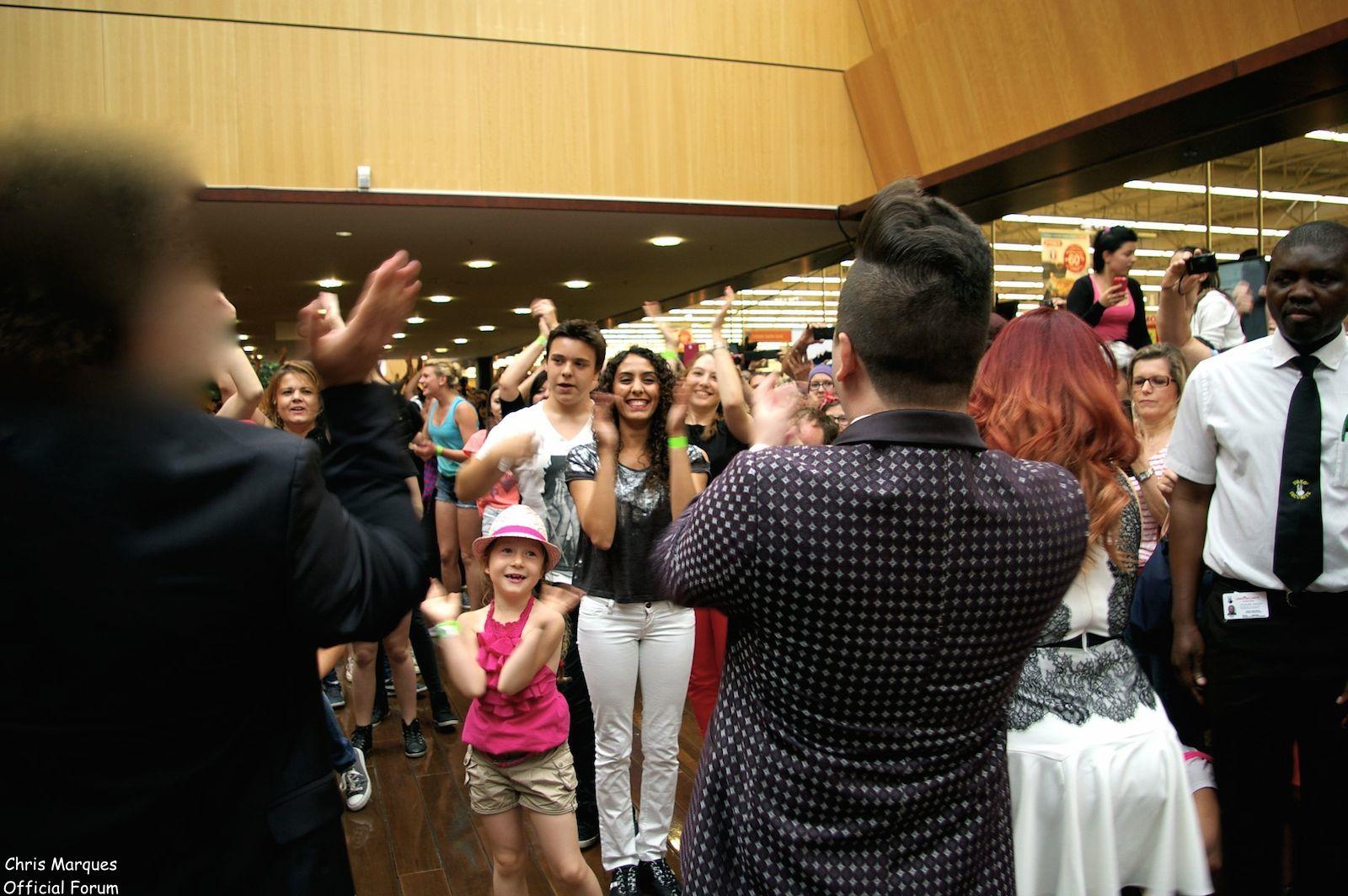 [14.06.2014] Evénement à #Colmar Chris Marques et Jaclyn Spencer pour un Flashmob/Cours de Danse/Dédicaces exceptionnels le tout organisé par la MJC de Colmar 2112