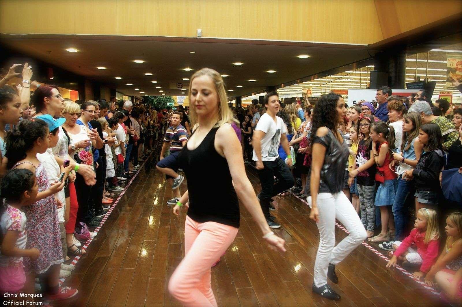 [14.06.2014] Evénement à #Colmar Chris Marques et Jaclyn Spencer pour un Flashmob/Cours de Danse/Dédicaces exceptionnels le tout organisé par la MJC de Colmar 212