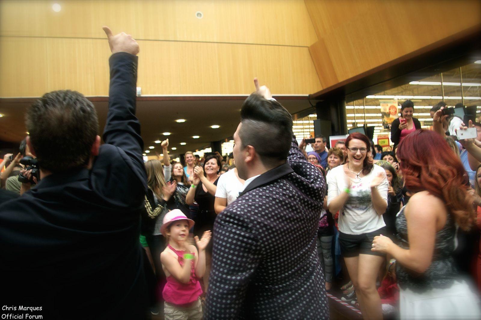 [14.06.2014] Evénement à #Colmar Chris Marques et Jaclyn Spencer pour un Flashmob/Cours de Danse/Dédicaces exceptionnels le tout organisé par la MJC de Colmar 2211
