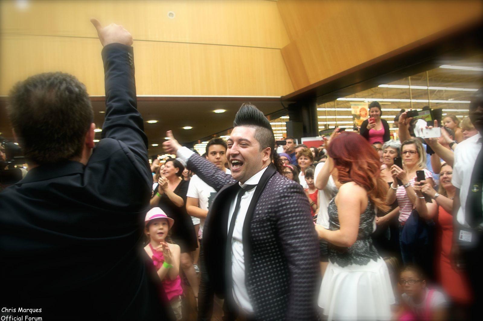 [14.06.2014] Evénement à #Colmar Chris Marques et Jaclyn Spencer pour un Flashmob/Cours de Danse/Dédicaces exceptionnels le tout organisé par la MJC de Colmar 2311