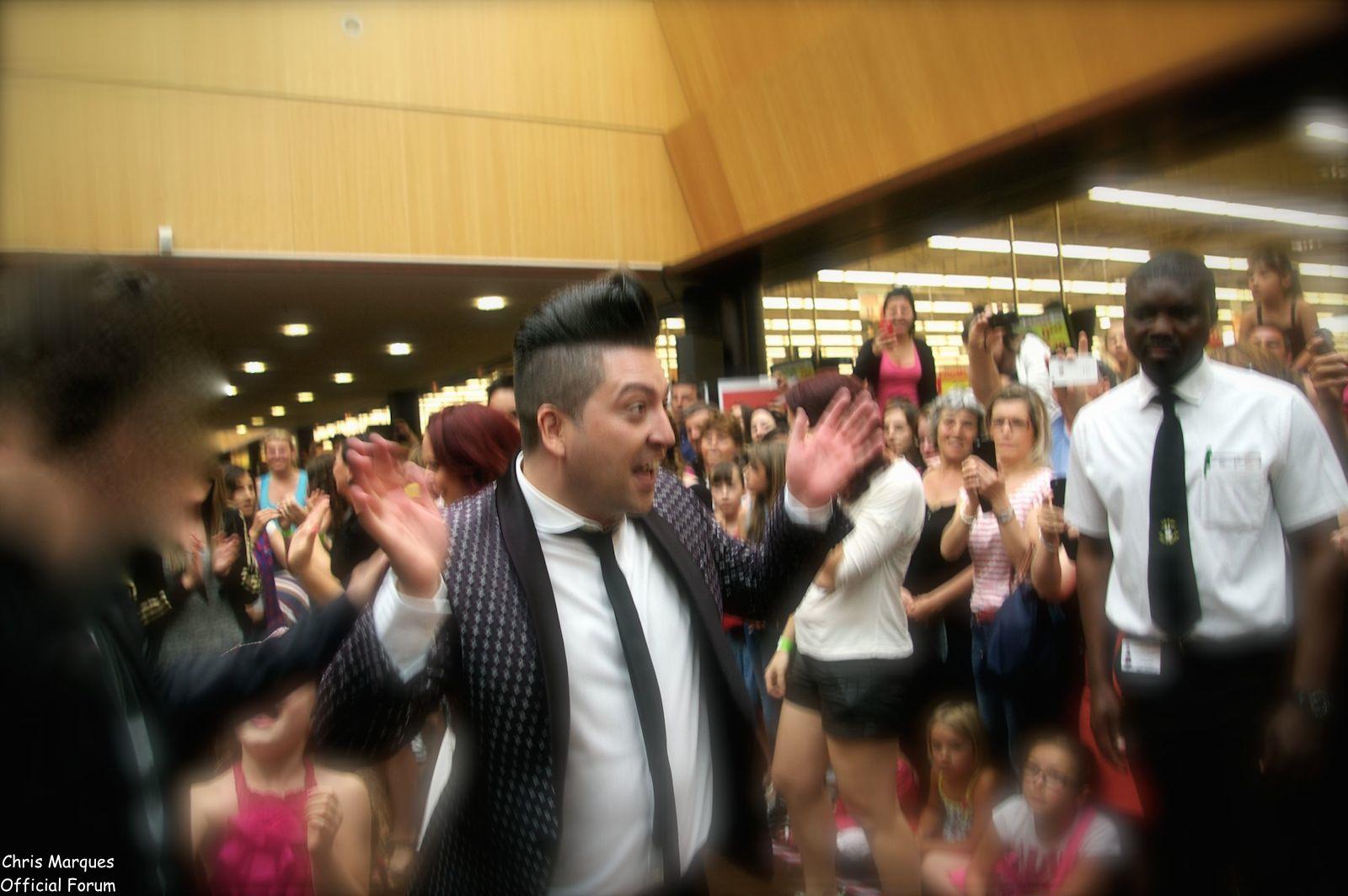 [14.06.2014] Evénement à #Colmar Chris Marques et Jaclyn Spencer pour un Flashmob/Cours de Danse/Dédicaces exceptionnels le tout organisé par la MJC de Colmar 2611