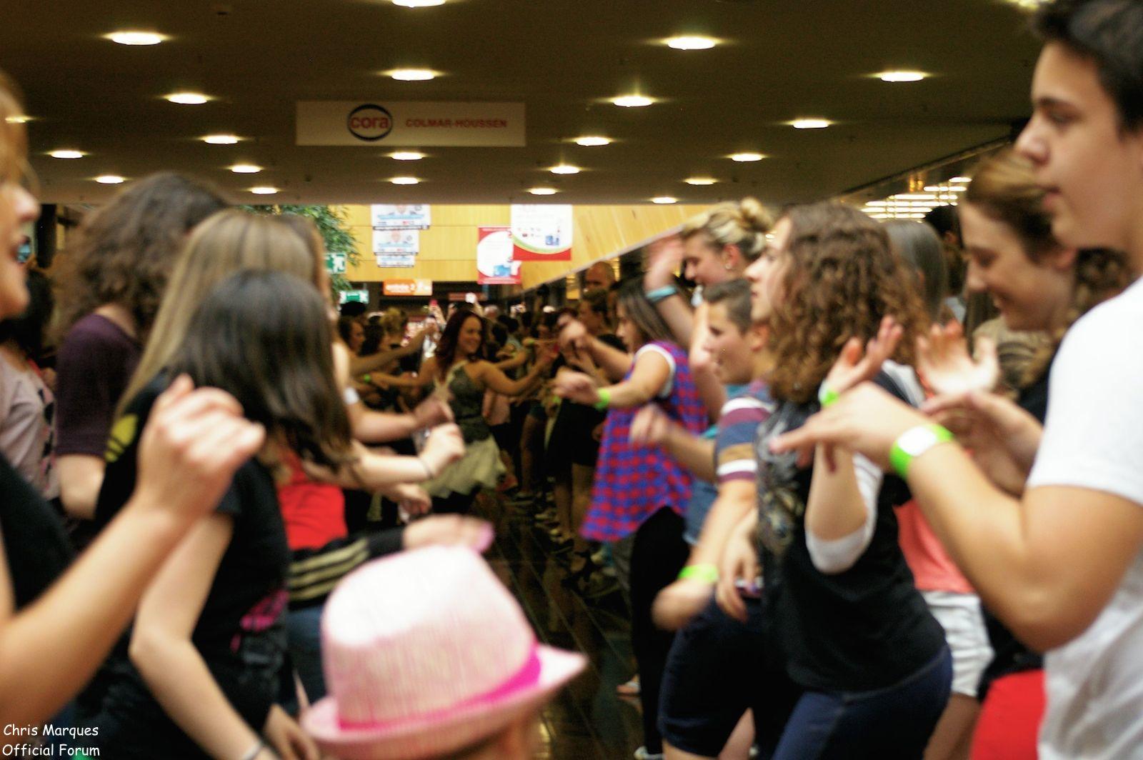[14.06.2014] Evénement à #Colmar Chris Marques et Jaclyn Spencer pour un Flashmob/Cours de Danse/Dédicaces exceptionnels le tout organisé par la MJC de Colmar 412