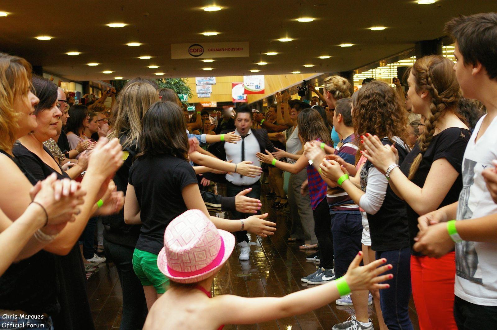 [14.06.2014] Evénement à #Colmar Chris Marques et Jaclyn Spencer pour un Flashmob/Cours de Danse/Dédicaces exceptionnels le tout organisé par la MJC de Colmar 612