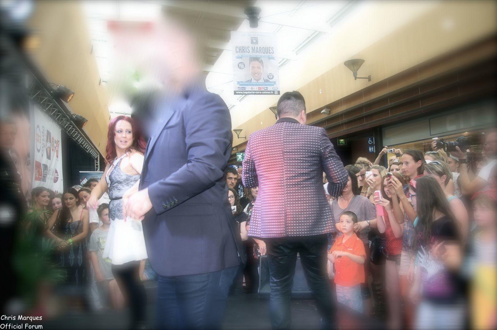 [14.06.2014] Evénement à #Colmar Chris Marques et Jaclyn Spencer pour un Flashmob/Cours de Danse/Dédicaces exceptionnels le tout organisé par la MJC de Colmar 7511