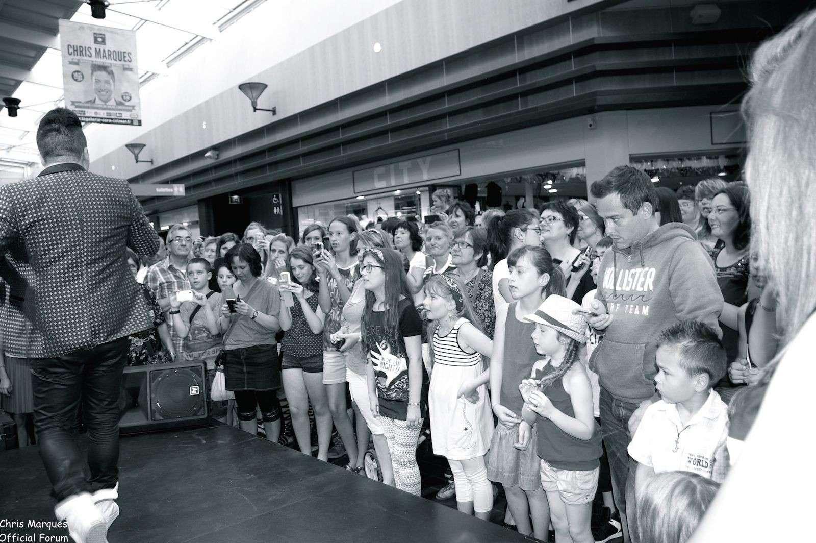 [14.06.2014] Evénement à #Colmar Chris Marques et Jaclyn Spencer pour un Flashmob/Cours de Danse/Dédicaces exceptionnels le tout organisé par la MJC de Colmar 8411