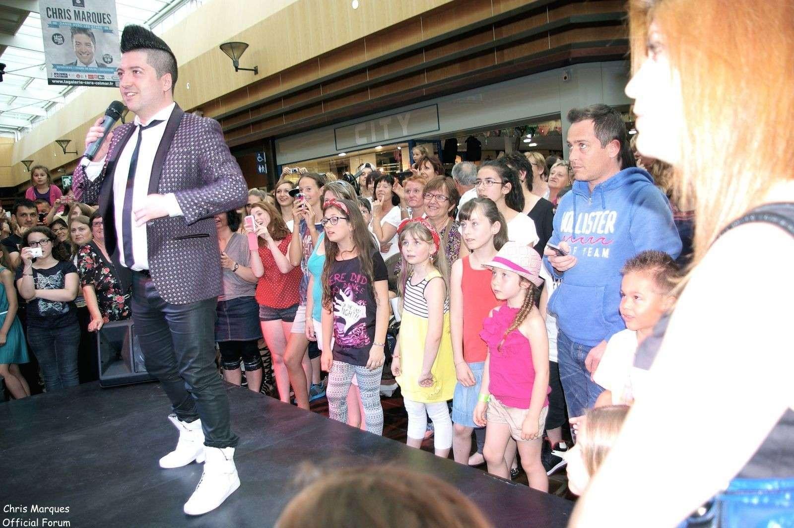 [14.06.2014] Evénement à #Colmar Chris Marques et Jaclyn Spencer pour un Flashmob/Cours de Danse/Dédicaces exceptionnels le tout organisé par la MJC de Colmar 8711