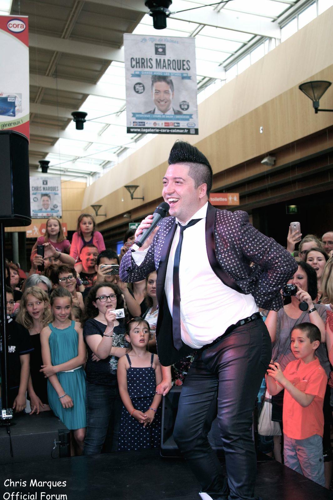 [14.06.2014] Evénement à #Colmar Chris Marques et Jaclyn Spencer pour un Flashmob/Cours de Danse/Dédicaces exceptionnels le tout organisé par la MJC de Colmar 9711