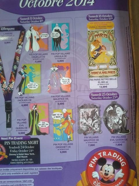 Le Pin Trading à Disneyland Paris - Page 2 20140150