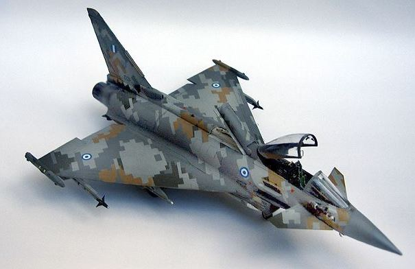 Eurofigther Typhoon deRevell au 1/48 212